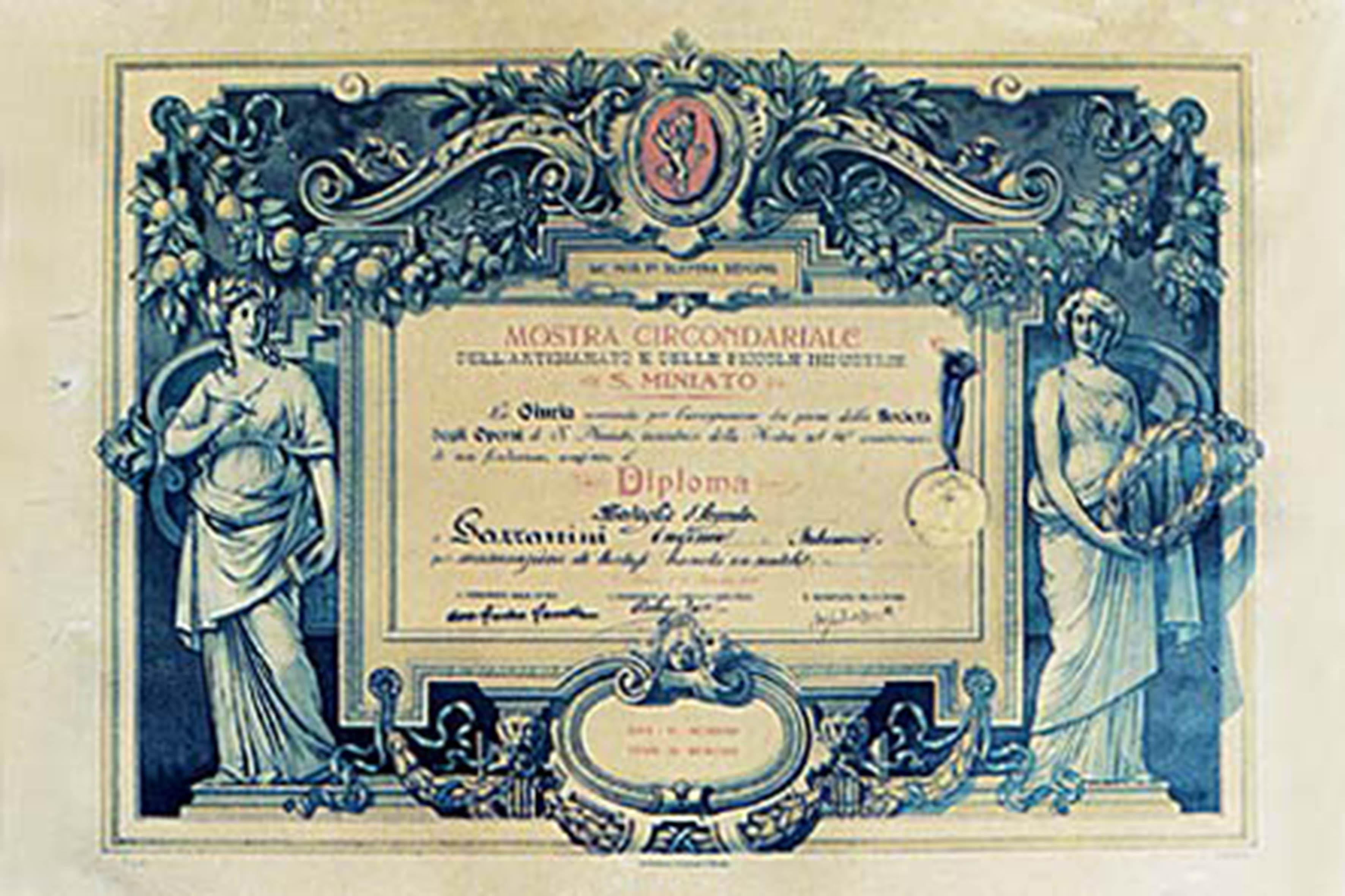 medaglia argento conservazione tartufo gazzarrini