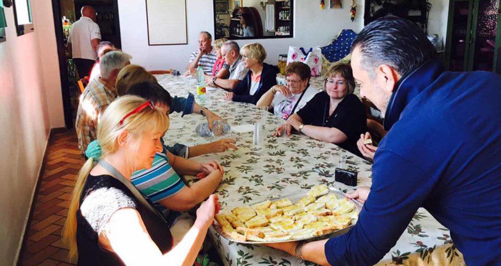 ricerca, degustazione dei tartufi di san miniato