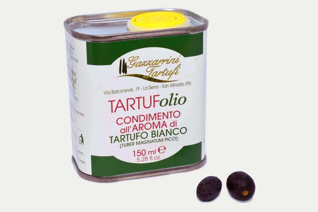 Olio al tartufo Gazzarrini, tartufi di san miniato